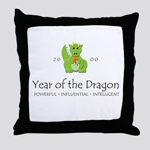 """""""Year of the Dragon"""" [2000] Throw Pillow"""